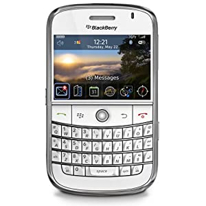 BlackBerry Bold 9000 Smartphone Appareil photo 2 Mpix GPS / WiFi Blanc Série Limitée