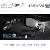 5.0 Mega pixels HD 1280X720 Spy Camera Sunglasses with MP3 player 8GB