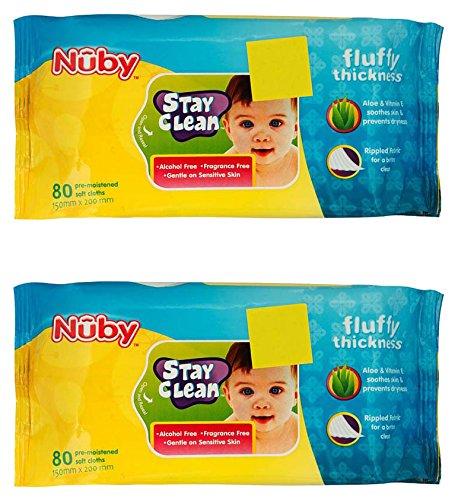 Nuby Baby Wet Wipes