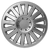 Sakura SMART 14-inch Silver Wheel Trims - Set of 4