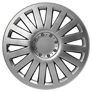 Sakura SMART 14-inch Silver Wheel Trims - Set of 4