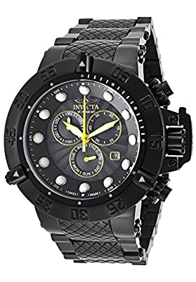 Invicta Men's 19168 Subaqua Analog Display Swiss Quartz Black Watch