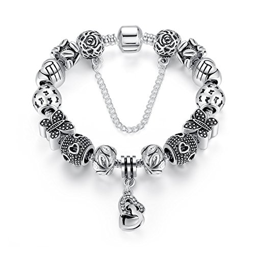 wostu-safety-chain-heart-charm-bracelet-with-silver-plated-charms-for-teen-girls