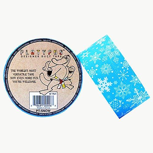 platypus-rabat-adhesif-fortis-pt-platypus-motif-flocon-de-neige-hanches-ruban-adhesif-longueur-x-lar