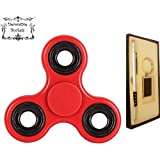 Decorative Buckets:FIDGET HAND SPINNER For Kids &adults:PREMIUM QUALITY WITH FREE PEN & KEY CHAIN GIFT SET :Stress...