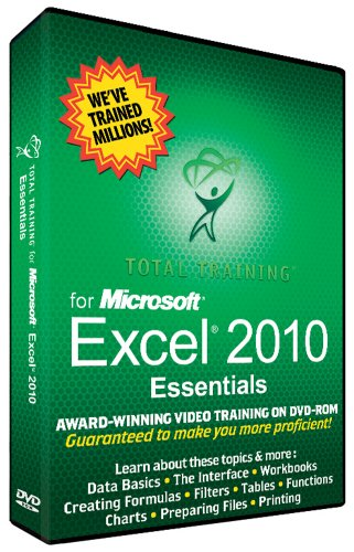 Training Software - Microsoft Excel 2010 Essentials front-781874