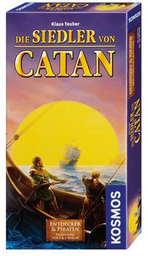 Kosmos 694111 - Die Siedler von Catan - Entdecker und Piraten, für 5-6 Spieler, Brettspiel