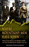Where Mountainy Men Have Sown: War and Peace in Rebel Cork in the Turbulent Years 1916-21