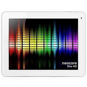 neoCore Elite HD 9.7-inch Tablet PC (Quad Core 1.6GHz, 2GB RAM, Ultra HD LCD 2048x1536, 16GB Storage 2x Camera, Bluetooth, Android 4.2, UK Warranty)