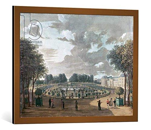 quadro-con-cornice-henri-courvoisier-voisin-the-luxembourg-gardens-stampa-artistica-decorativa-corni