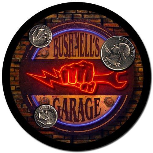 Bushnell'S Garage Drink Coasters - 4 Pack