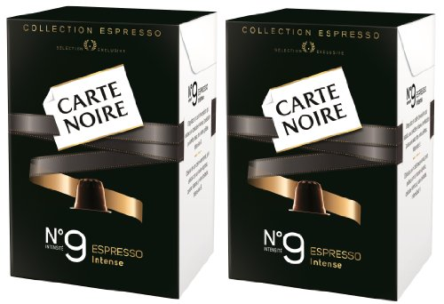 Shop for Nespresso Carte Noire No.9 INTENSE Espresso Coffee Capsules (20 Capsules) from Carte Noire