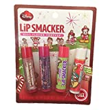 Lip Smacker Disney Mickey Mouse 4 Stick Lip Balm Christmas Holiday Collection Best Flavor Forever