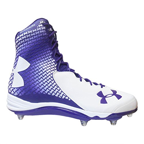on sale 32539 7738e pictures of Under Armour Team Brawler D Com Wide Men s Detachable Football  Cleats (16 Wide