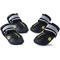 Colorfulhouse® Waterproof Pet Boots For Medium To Large Dogs Labrador Husky Shoes 4 Pcs
