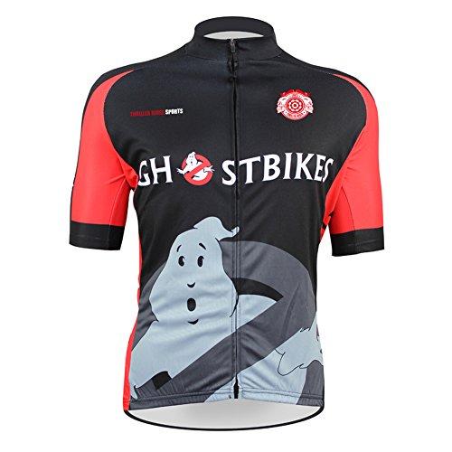 Thriller Rider Sports Donna Ghost Bike Maglia Manica Corta Ciclismo Cycling Short Sleeve Jersey Medium