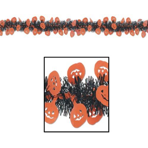 FR Metallic Pumpkin Garland Party Accessory (1 count) (1/Pkg) - 1