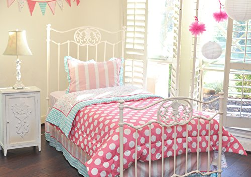 Pam Grace Creations Bedding Set, Posh In Paris, Queen front-601665