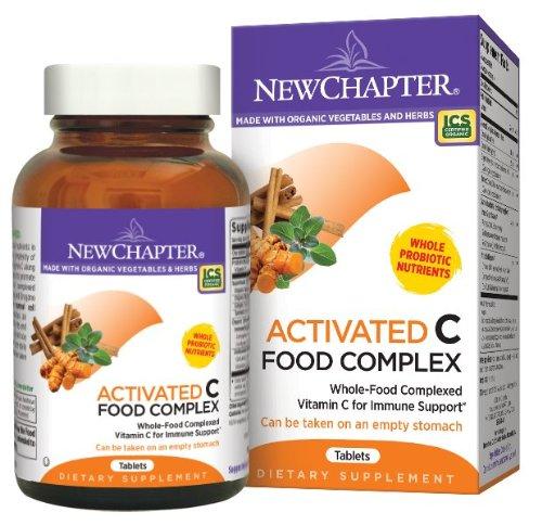New Chapter新章 有机食物萃取 维生素C 90粒