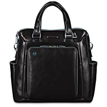 Piquadro Shopping Bag with PC and iPad Compartment Shoulder Strap