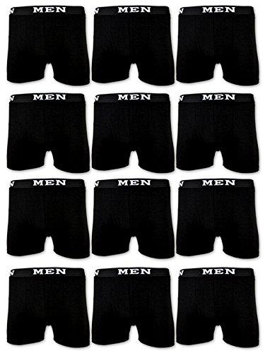 4 | 10 | 20 Boxershorts Baumwolle MEN Herren Retro Shorts Schwarz Blau Grau M L XL XXL XXXL – sockenkauf24