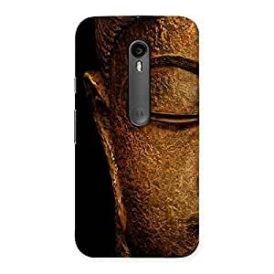 Luxirious Lord Buddha Multicolor Back Case Cover for Moto G3