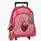 Strawberry Shortcake Rolling Backpack - Kid size Strawberry Shortcake Luggage