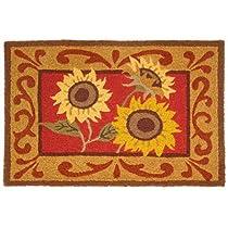 Provence Sunflowers Doormat-JellyBean Rug
