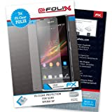 AtFoliX Sony Xperia SP Protective Display Film FX-Clear Crystal Clear Pack of 3