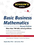 img - for Schaum's Outline of Basic Business Mathematics, 2ed (Schaum's Outline Series) book / textbook / text book