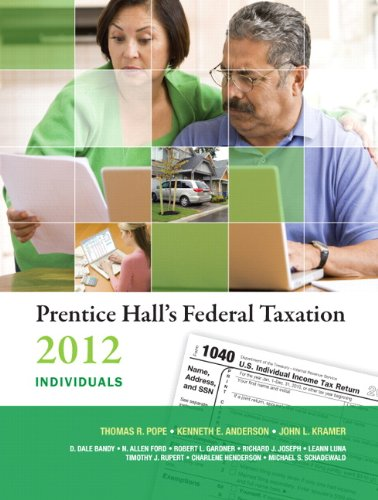 Prentice Hall's Federal Taxation 2012 Individuals (25th...