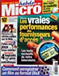 MICRO HEBDO [No 181] du 04/10/2001 -...