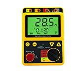 AR4105A+ デジタル接地抵抗計 接地抵抗/接地電圧 2Ω/20Ω/200Ω