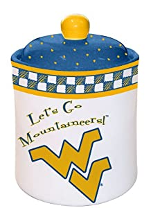 West Virginia Gameday Cookie Jar