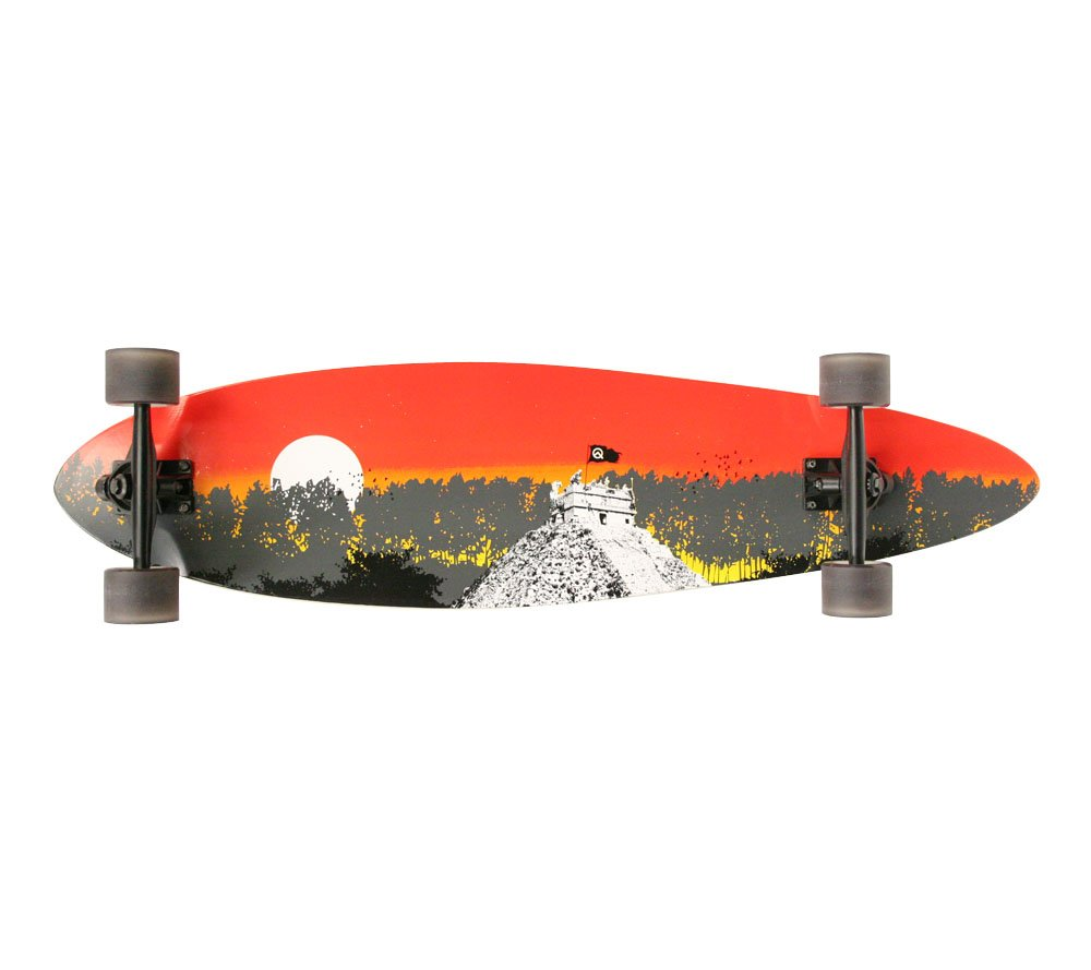 Quest Conquest Longboard Skateboard, 40-Inch vision quest