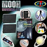 The Moon Universal Kit for KODAK EASYSHARE DX6490, DX7440, DX7590, DX7630, P712, P850, P880, Z730, Z7590, Z760 Cameras . Includes: 2 KLIC-5001 1850mAh Ultra High Capacity Batteries made with cells produced in JAPAN or USA, Table-Top Wire Tripod, 110/240 M