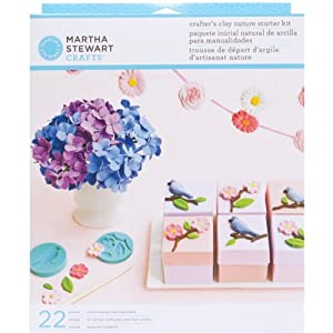 Martha Stewart Crafts Crafter's Clay Starter Kit, Nature