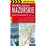 Wielkie Jeziora Mazurskie. Mapa turystyczna 1:60 000 (Polska wersja jezykowa)