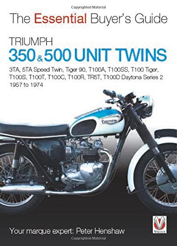 Triumph 350 & 500 Twins (Esential Buyers Guides)