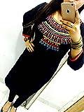 Kesu-Fahion-Womens-Embroidered-semi-stitched-Selfie-Kurti-In-Georgette-Fabric-KUKRT1013Free-SizeBlack