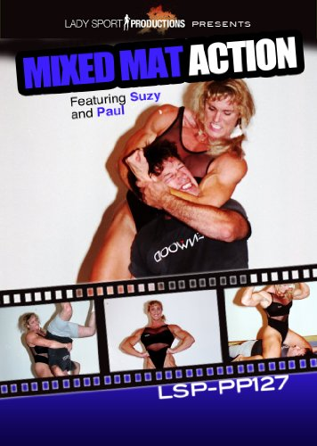 Women's Wrestling DVD - Mixed Mat Action - LSP-PP127 - featuring Suzy and Paul
