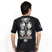 粋狂 Tシャツ 半袖 桃太郎 和柄 SYT-126b