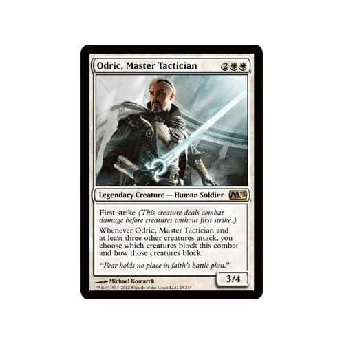 : the Gathering - Odric, Master Tactician (23) - Magic 2013 - Foil