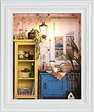 作って楽しい,飾って楽しい ドールハウス キット[ミニチュア フレーム キット]温暖