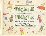 Tickle a pickle (0590079069) by Turner, Ann Warren