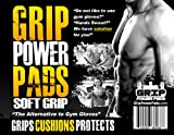 Soft GRIP POWER PADS - ALTERNATIVE TO GYM GLOVES, Weight Lifting Straps and Gloves