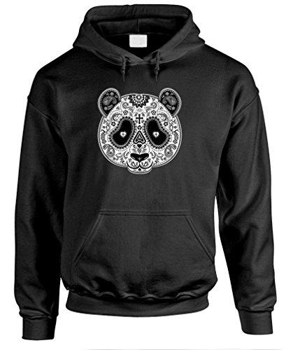 SCORN - PANDA MASK DAY OF THE DEAD - Mens Pullover Hoodie