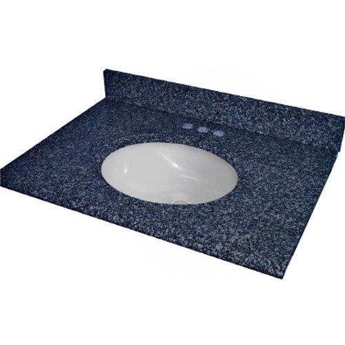 Bathroom sinks pegasus 25905 solid surface granite vanity - Discount granite bathroom vanity tops ...