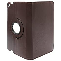 DMG Full 360 Rotating Stand Cover Case for ASUS Google Nexus 7 2013 Editionand DMG Wristband (Brown)