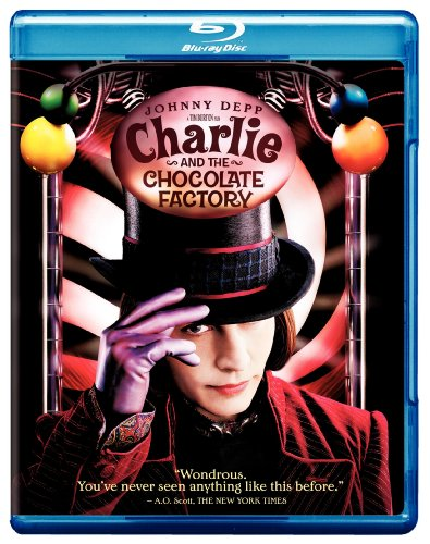 Blu-ray : Charlie and the Chocolate Factory (Widescreen, Dolby, AC-3, Digital Theater System, True-Hd)